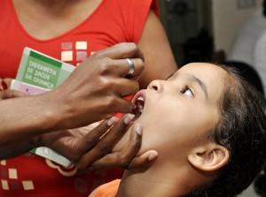 Rio Claro não atinge meta e mantém vacinação contra a pólio