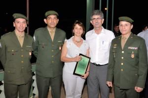 Dia do Soldado é marcado por homenagens no Tiro de Guerra