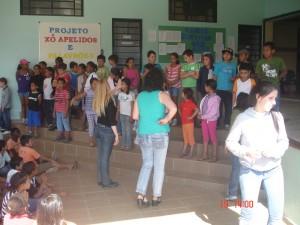 Encontro reúne 188 crianças no Projeto PAI