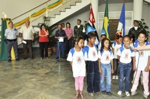 Ato cívico marca Dia da Independência em Rio Claro