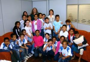 Alunos da escola Sérgio Hernani vistam FSS