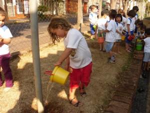 Estiagem entra em pauta na escola Paulo Koelle