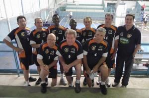 Equipes de Voleibol da Melhor Idade de RC jogaram no sábado