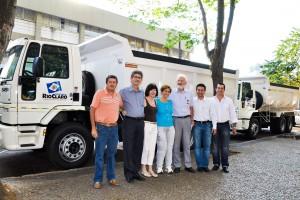 Prefeitura de Rio Claro amplia a frota com mais seis caminhões