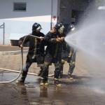 Brigadistas treinam para atuar no combate a incêndios