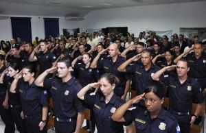 Solenidade de formatura da GCM reúne mais de 170 pessoas