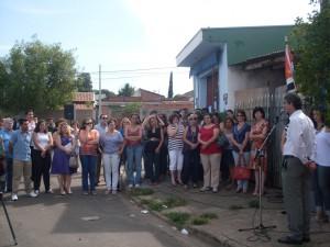 Inauguração do CRAS Jardim Panorama reúne moradores em clima de festa