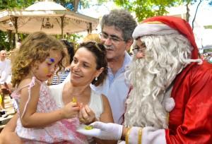 Festa de Natal reúne milhares no Jardim Central de Rio Claro
