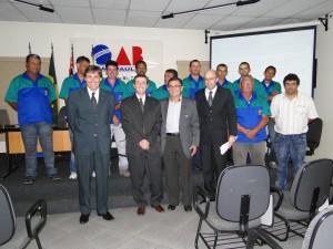 Comissão de Segurança da OAB presta homenagem ao secretário de Mobilidade Urbana e Sistema Viário