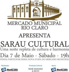 Sarau Cultural faz do Mercado Municipal boa opção de entretenimento