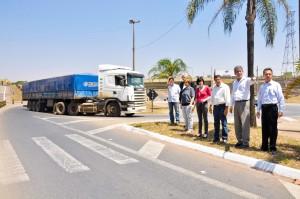 Prefeitura e Centrovias iniciam adequação viária no trevo de acesso da Tancredo Neves