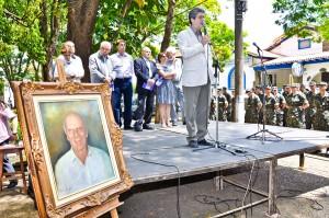 Emoção marca homenagem a Ulysses Guimarães