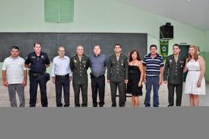A 7ª delegacia do Serviço Militar  de RC têm novo comandante