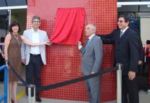 Prefeito participa de inauguração  do Posto Fiscal