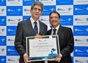 Altimari recebe Selo de Prefeito Empreendedor pela segunda vez consecutiva