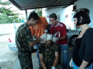 Defesa Civil faz palestras  para voluntários