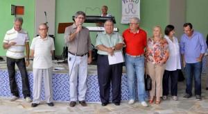 Prefeito e vice-prefeita prestigiam inauguração no Ginástico
