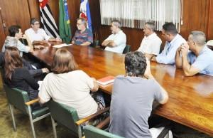 Prefeito Du Altimari recebe diretoria do Sindmuni