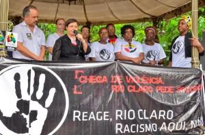 Prefeita Olga destaca trabalho de regaste da história dos negros