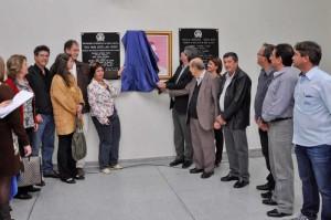 Placa dá o nome de Rosa Maria Castellano Pieroni à creche no Cervezão