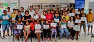 Fundação Ulysses Guimarães entrega certificados a alunos no Grande Cervezão