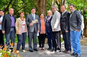 Baleia Rossi recebe medalha Ulysses Guimarães em Rio Claro