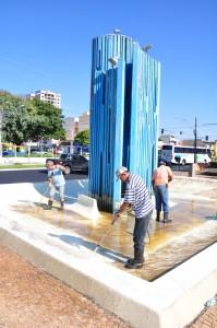 Serviço de limpeza da cidade é ininterrupto em Rio Claro