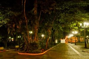 Prefeitura renova iluminação do Jardim Público