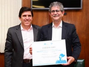 Sebrae entrega prêmio Prefeito Empreendedor a Du Altimari