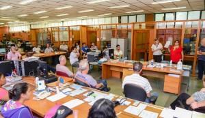 Sepladema realiza reunião sobre dengue