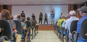 Palestras sobre serviços prestados no Cras Panorama reúnem mais de 150 pessoas