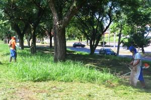 Prefeitura faz limpeza de terrenos no Cervezão e Cidade Jardim