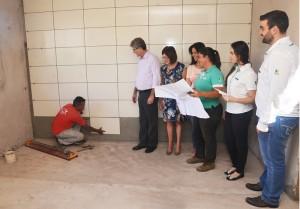 Setor administrativo do canil municipal entra na fase final
