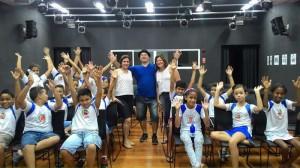Projeto Cineminha leva arte a alunos de escola municipal