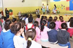 Escolas competem na etapa cultural da II Olimpíada Ambiental