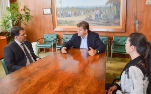 Prefeito e OAB conversam sobre DDM, novo fórum e vara federal
