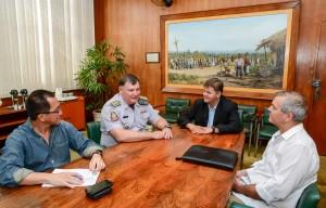 Rio Claro busca apoio estadual para segurança pública