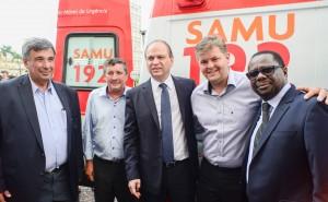 Rio Claro ganha nova ambulância para o Samu