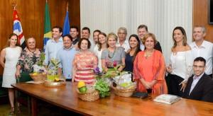 Marta Suplicy e Fátima Pelaes visitam Rio Claro