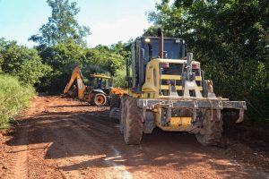 Ação da prefeitura melhora condições da Estrada Jacutinga