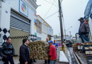 Município faz reintegração de imóvel no centro histórico de Rio Claro