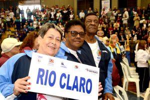 Natação masculina de RC conquista medalha de ouro nos Jogos dos Idosos