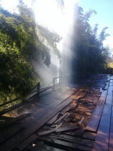 Atos de vandalismo prejudicam fornecimento de água em Batovi