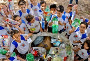 Gincana ambiental arrecada 9 toneladas de material reciclável