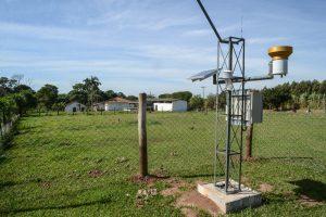Região rural de RC ganha estação meteorológica