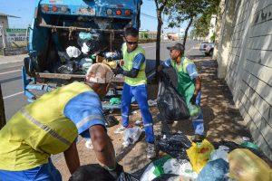 Feriado de sábado terá coleta de lixo em RC