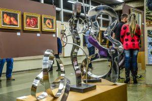 35º Salão de Artes Plásticas tem mais de 80 obras em exposição