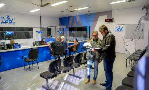 Daae reforma agência de atendimento para melhor atender a população
