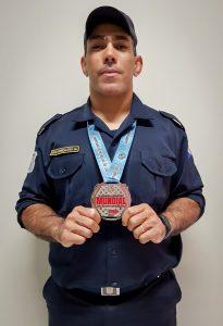 Guarda Civil de Rio Claro conquista a prata no mundial de jiu-jítsu