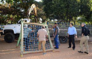 Prefeitura remove brinquedos do  Lago Azul para segurança de crianças
